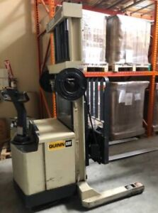 Crown 30wrtl s Reach Walkie Stacker Forklift W sideshifter Tilt And Charger