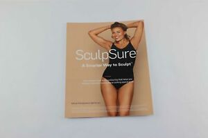 2017 Cynosure Sculpsure Front Desk Lobby Marketing Sign Display Sculp Sure 8x11