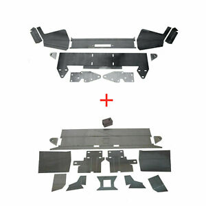 Diy Front Rear Bumper Kit Bare Metal For 1984 2001 Jeep Cherokee Xj New