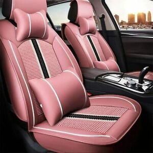 Car Seat Covers For Chevrolet Camaro Front Car Seat Cover Pink