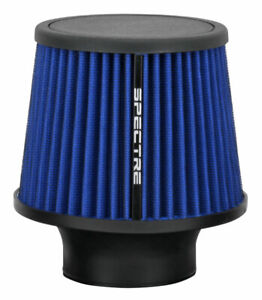 Spectre Performance 9136 Washable Cone Cold Air Intake Filter 3 Clamp On Blue