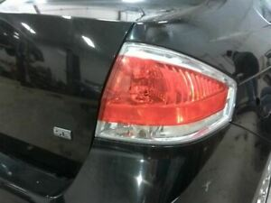 2008 2011 Focus Passenger Tail Light Sedan Bright Chrome Trim 516402