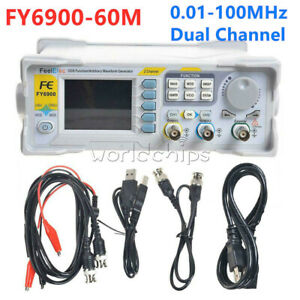 Arbitrary Waveform Pulse Function Signal Generator Feeltech Fy6900 60m Dds