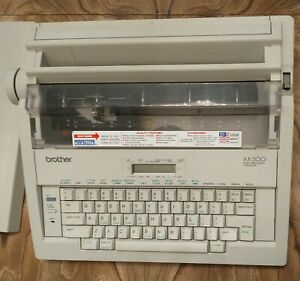 Brother Ax 500 Word Processing Electric Portable Typewriter