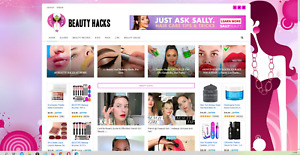 Beauty Guides Website Affiliate Product Website 100 Automated