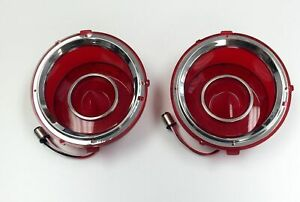 Led Tail Light Set Left Right Compatible With Chevrolet Camaro 1970 1973