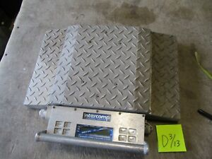 Used Intercomp Wheel Load Weigher Scale Model Pt300