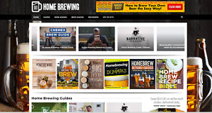 Home Brewing Guides Website Affiliate Product Website 100 Automated