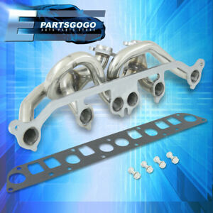 For 01 06 Jeep Wrangler Tj 4 0l Amc Stainless Steel Race Exhaust Manifold Header