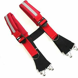 Firefighter Pant Suspenders Fire rescue Quick Adjust Suspenders With