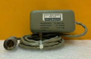 Hp Agilent 343a 10 To 600 Mhz 50 Ohm Noise Source For 342a Noise Figure Meter