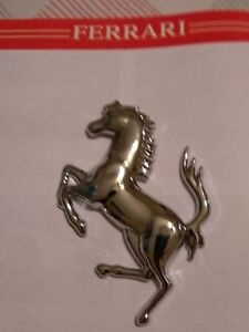 Ferrari California 599 612 Ff Prancing Horse For Front Or Rear Flat On The Back