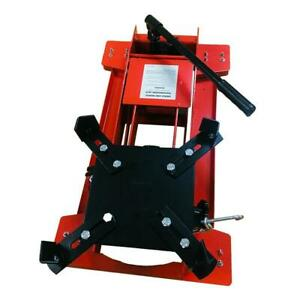 High Quality 1100 Lb Low profile Transmission Jack Steel Red