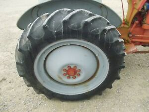 Ford 8n 9n 2n Tractor 11 2 X 28 90 Huskee Tread Tire Rust Rotted Rim cent Hub