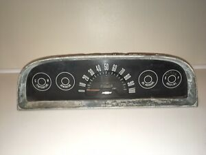 1961 1962 1963 C10 Chevy Truck Instrument Cluster