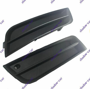 Lh Rh For 2011 14 Chevy Cruze Front Bumper Insert Fog Light Opening Cover Trim