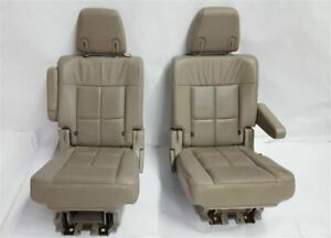 2nd Row Captain Chairs Seats Heated Oem 2012 Lincoln Navigator R318530