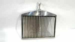 Chrome Grille With Emblem Oem 1977 Rolls Royce Silver Wraith
