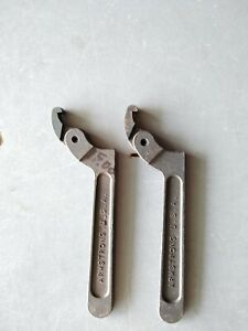 2 Classic Armstrong Usa 34 301 Adjustable Spanner Wrenches Vintage Tool Set