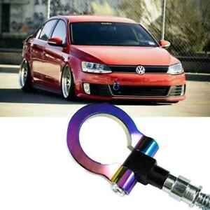 Neo Chrome Track Racing Jdm Style Cnc Aluminum Tow Hook For Vw Jetta 2011 2018