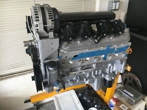 5 3 Turbo Ls Engine 600 Hp Rebuilt Ls1 Ls2 Ls3 Ls6 New Fitech Comp Cams Touring