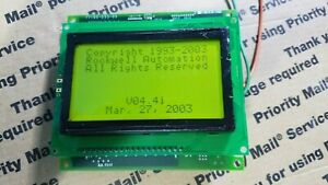 Panel View 300 Allen Bradley Only Lcd Working