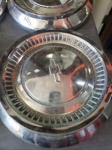 Vintage Chevy Truck Hubcaps