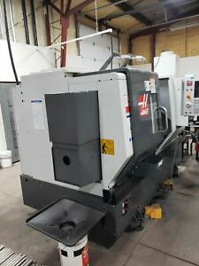 Haas Ds 30y Cnc Lathe 2020 Tool Presetter Parts Catcher Live Tooling With C