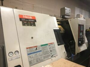 Mazak Super Quick Turn 300my Multi Axis Cnc Lathe 2008 Live Tooling Y Axis