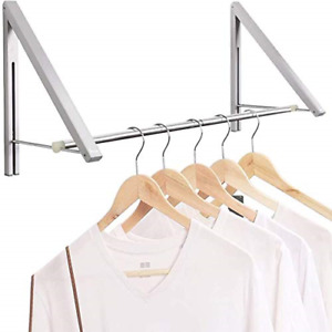 Eopro Drying Racks For Laundry Foldable Coat Rack Wall Mounted Folding Clothes