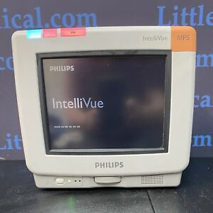 Philips Intellivue Mp5 Patient Monitor With Co2 Temp Ibp Ecg Nibp Fast Spo2