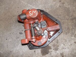 Farmall Super M Sm Ih Tractor Orgnal Hydraulic Belly Pump Assembly W Cover