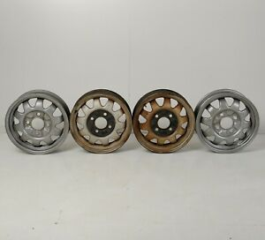 1972 Vw Beetle Lemmerz 1511 Marathon Wheels Set Of 4 4 5j X 15