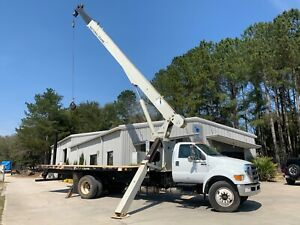 2013 National Crane 500e2 18 Ton 70 Ft Boom On Ford F750 Chassis