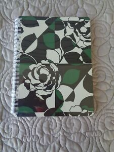New Vera Bradley Mini Notebook With Pocket Imperial Rose