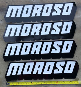 4 Moroso Racing Decals Stickers 3x11 5 Drags Nhra Offroad Hotrods Dirt Tracks