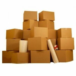 Moving Supplies 1 Room Basic Kit 18 Moving Boxes Bubble Tape
