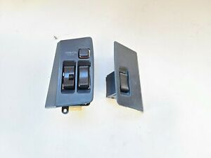 1986 1992 Toyota Supra Mk3 Window Switches Set Lh Rh Pair Gray Oem
