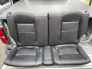 94 01 Acura Integra Gsr Coupe Oem Rear Black Leather Seats Dc2 Dc4 Hatch 2 Door
