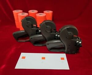 3x Avery Dennison Monarch 1136 Two line Price marking Labeler 5 Sleeve Labels