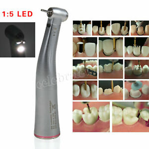 Fit Nsk Ti Max 1 5 Dental Fiber Optic Led Contra Angle Handpiece Inner Water