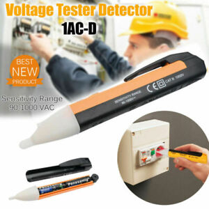 Voltage Tester Pen Electric Power Volt Alert Detector 1ac d Non Contact Sensor