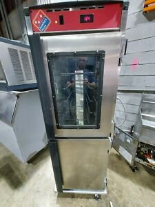 Cres Cor H 137 ua 12 Cm Insulated Mobile Heated Cabinet With Glass Windows
