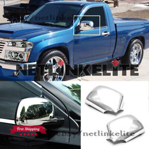 Fit 2004 2012 2013 Gmc Canyon Chorme Stainless Steel Full Mirror Covers 1pair
