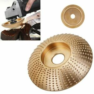 Carbide Wood Sanding Carving Shaping Disc For Angle Grinder grinding Wheel 85mm