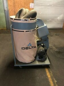 Delta 50 851 2hp 1phase 220v Dust Collector w2