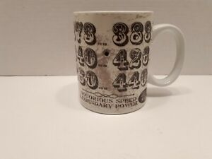Choko Authentics Mopar Most Wanted Coffee Mug Small Big Block Engines Speed 440