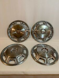 Four 1967 1968 Cadillac Eldorado Hubcap Wheelcover Classic Vintage 67 68 Used