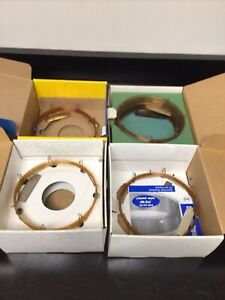 Assorted Lot Of 4 High Resolution Gas Chromatography Columns