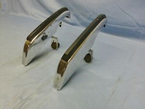 1971 1972 Dodge Charger Se R T Rallye Super Bee Pair Of Front Bumper Guards